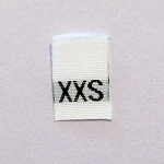 Extra Extra Small Size Tags