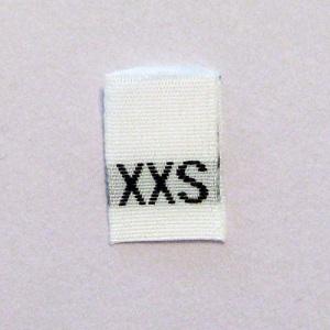 Extra Extra Small Size Tags